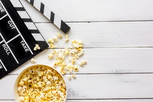 Host Family Movie Night on Your Lakeland Patio